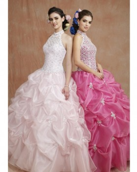 Trying on quinceanera dresses is the most exciting part of the planning process.