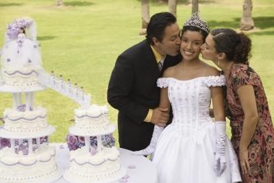 Parents play an important role in quinceanera traditions.